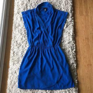 AQUA Royal Blue Dress